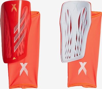 ADIDAS PERFORMANCE Schienbeinschoner 'X League' in gelb / rot / weiß, Produktansicht