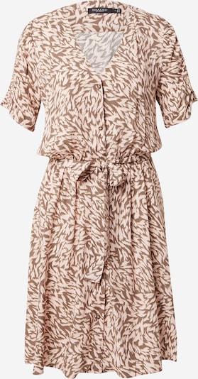 SOAKED IN LUXURY Kleid 'Arjana' in creme / hellbraun, Produktansicht
