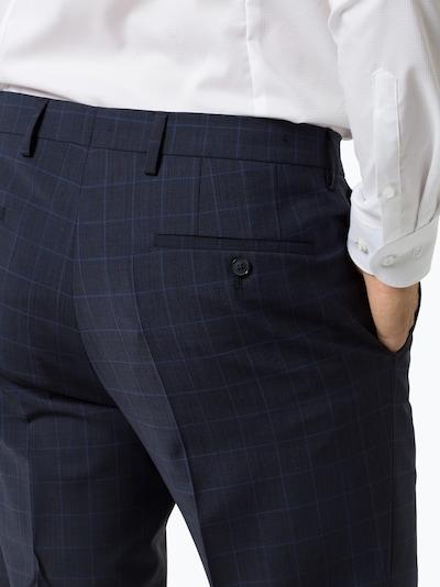 PIERRE CARDIN Pantalon à plis en bleu nuit / bleu ciel, Vue avec produit