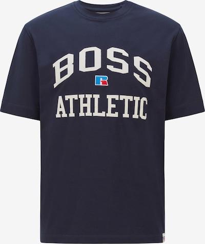 BOSS Casual Shirt in blau / navy / rot / weiß, Produktansicht