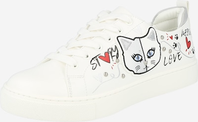 Sneaker bassa 'MINOU' ALDO di colore grigio / rosso / nero / bianco, Visualizzazione prodotti
