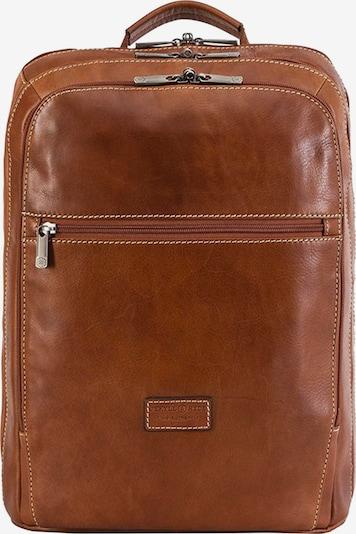 Jekyll & Hide Montana Businessrucksack RFID Leder 45 cm Laptopfach in braun, Produktansicht