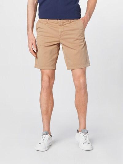 BOSS Casual Панталон Chino в светлобежово, Преглед на модела