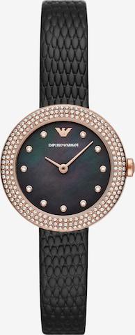 Emporio Armani Analog Watch in Black