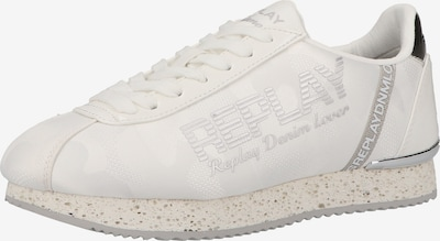 REPLAY Sneaker in schwarz / silber / weiß, Produktansicht