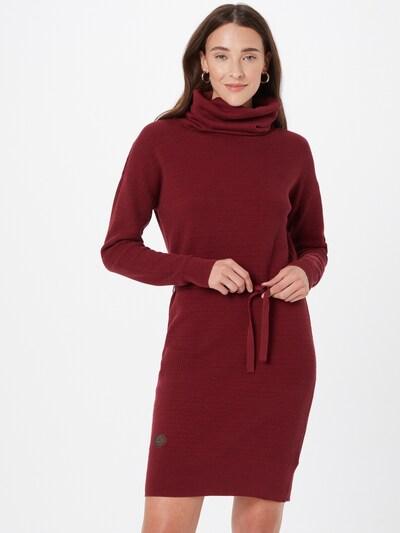 Ragwear Kleid 'BABETT' in karminrot, Modelansicht