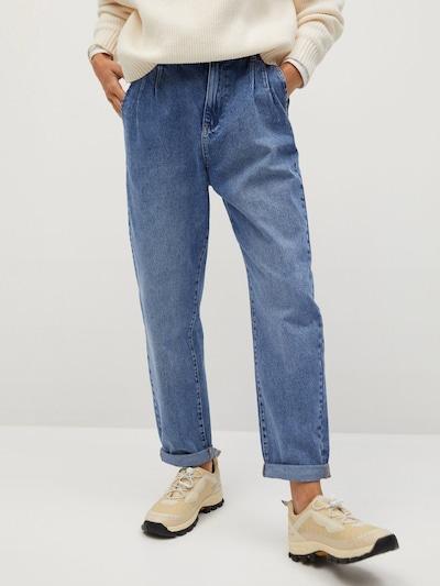 MANGO Jeans 'loose2' in blue denim, Modelansicht