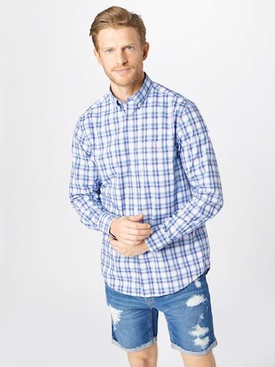 GANT Košeľa - modrá / ružová / biela: Pohľad spredu