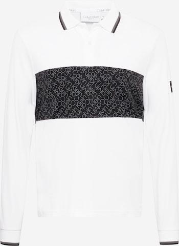 Maglietta di Calvin Klein in bianco