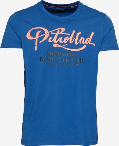 Petrol Industries T-Shirt in blau / pink / schwarz, Produktansicht