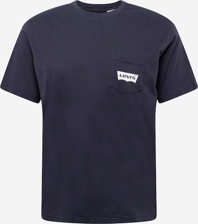 LEVI'S Shirt 'RELAXED GRAPHIC POCKET T' in dunkelblau, Produktansicht