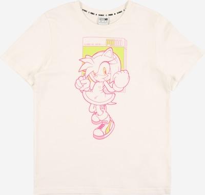 PUMA Shirt in pink / weiß, Produktansicht