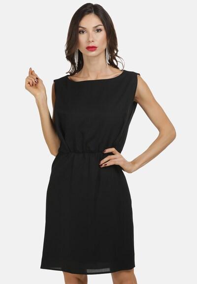 faina Sommerkleid in schwarz, Modelansicht