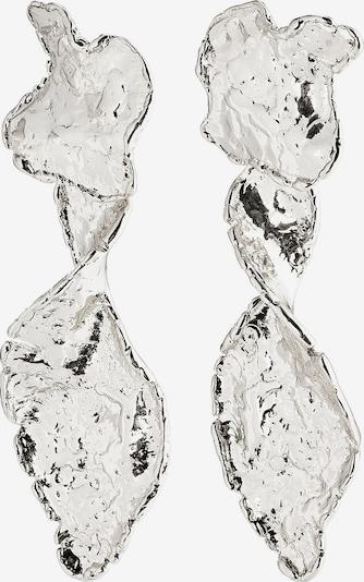 Pilgrim Oorbellen 'Compass' in de kleur Zilver, Productweergave