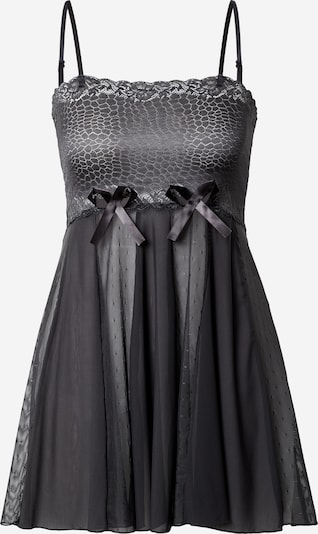 LingaDore Negligee 'Babydoll' in Dark grey, Item view