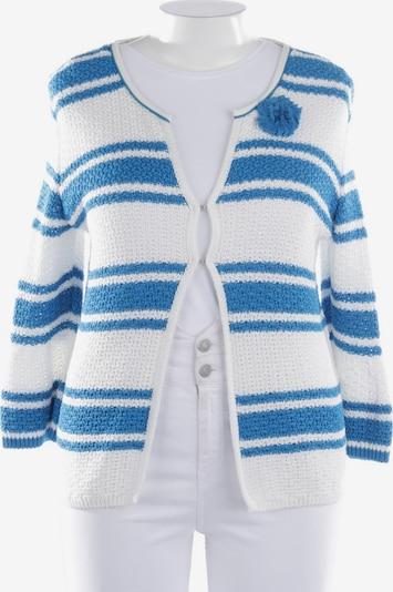 Marc Cain Strickjacke in XL in blau / weiß, Produktansicht