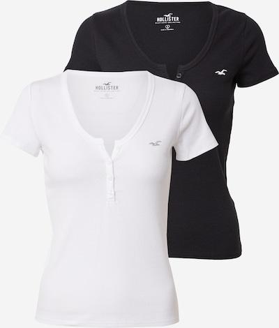 HOLLISTER Koszulka w kolorze czarny / białym, Podgląd produktu