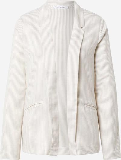 Tally Weijl Blazer en beige / blanc, Vue avec produit