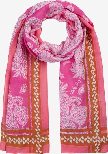 CODELLO Scarf in Light pink / Dark pink, Item view