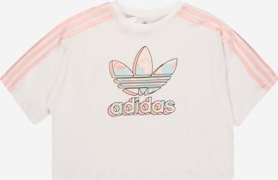 világoskék / világos-rózsaszín / fekete / fehér ADIDAS ORIGINALS Póló, Termék nézet