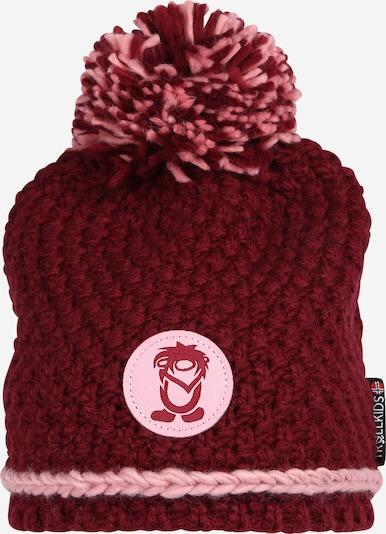 TROLLKIDS Mütze in rosé / karminrot, Produktansicht