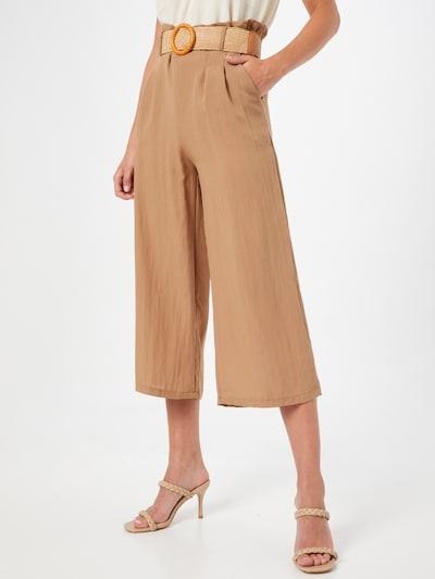ZABAIONE Hose 'Mia' in camel, Modelansicht