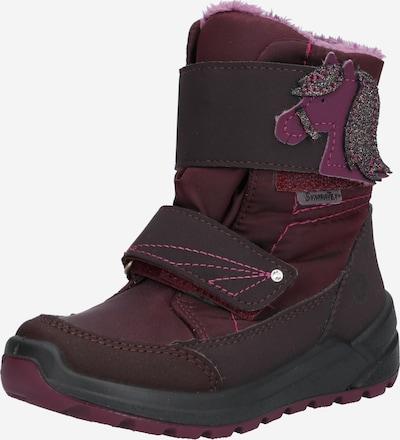 RICOSTA Čizme za snijeg 'GAREI' u antracit siva / grafit siva / ljubičasta: Prednji pogled