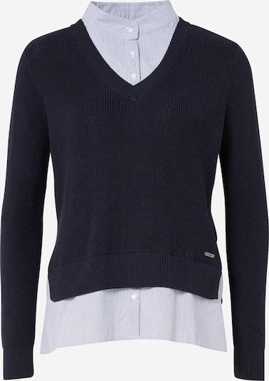 ESPRIT Pullover in navy / hellblau / weiß, Produktansicht