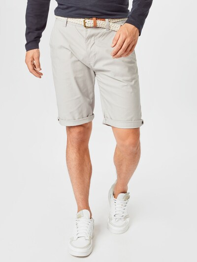 ESPRIT Lærredsbukser i karamel / lysegrå / hvid, Modelvisning