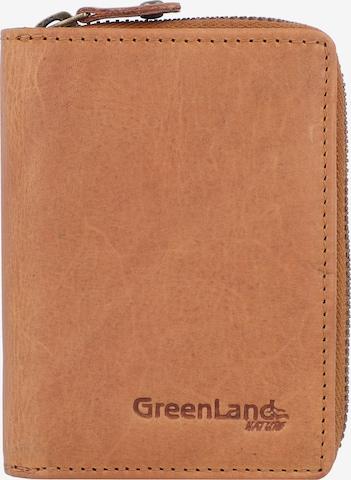 Greenland Nature Geldbörse in Braun