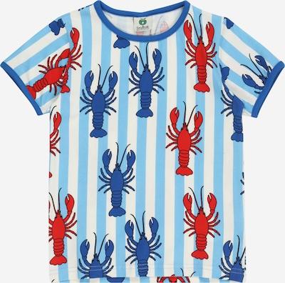 Småfolk Тениска в синьо / светлосиньо / червено / бяло, Преглед на продукта