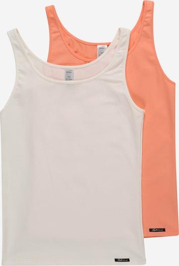 Skiny Unterhemd in koralle / schwarz / weiß, Produktansicht