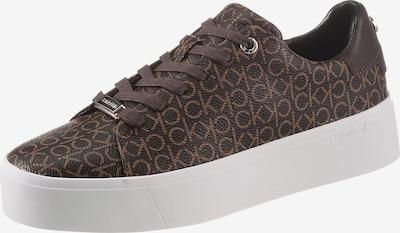 Calvin Klein Zapatillas deportivas bajas en marrón claro / marrón oscuro, Vista del producto