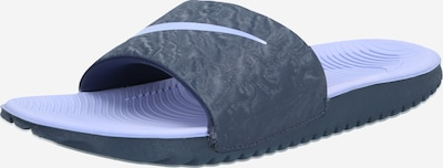 NIKE Strand-/badschoen 'KAWA' in de kleur Lichtblauw / Donkergrijs, Productweergave