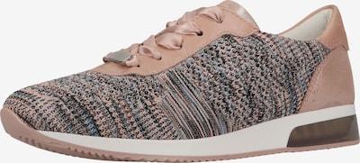 ARA Baskets basses en gris / rose, Vue avec produit