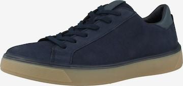 ECCO Sneaker 'Ecco Street Tray' in Blau