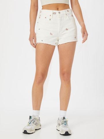 LEVI'S Jeans '501 Original' in Wit