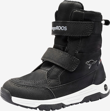KangaROOS Snowboots in Schwarz