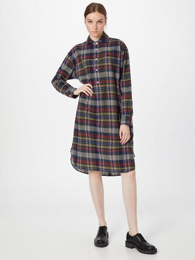 POLO RALPH LAUREN Košilové šaty - námořnická modř / hořčicová / šedá / tmavě zelená / červená, Model/ka