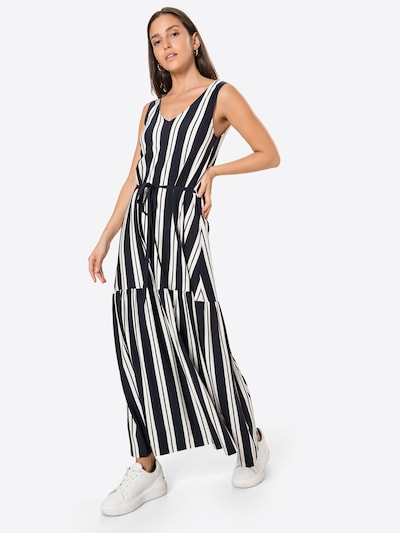 GANT Letné šaty - tmavomodrá / biela: Pohľad spredu