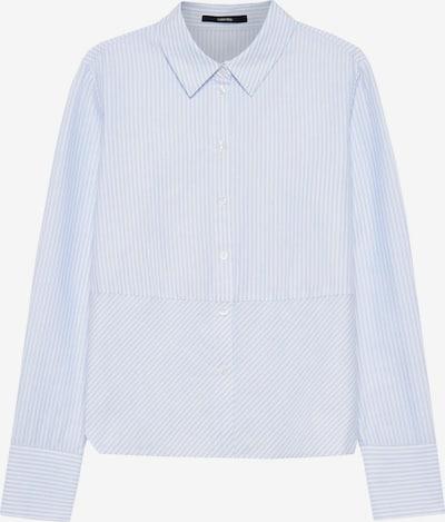 Someday Bluse in hellblau / weiß, Produktansicht