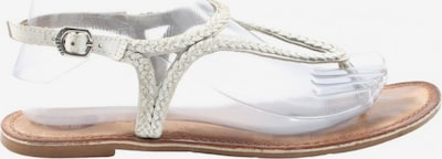 Gioseppo Riemchen-Sandalen in 39 in braun / silber, Produktansicht