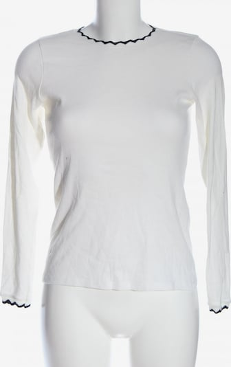 ZARA Longsleeve in L in weiß, Produktansicht
