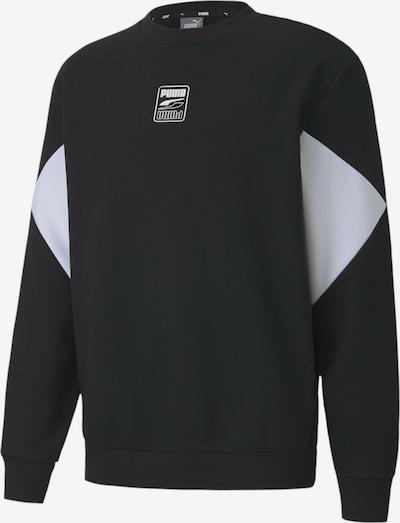 PUMA Rebel Small Logo Herren Sweatshirt in schwarz, Produktansicht
