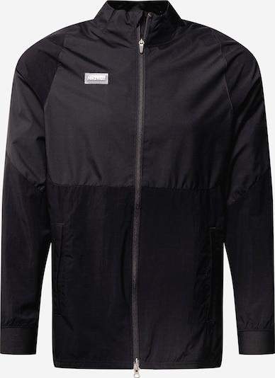 NIKE Sportjas in de kleur Zwart / Wit, Productweergave