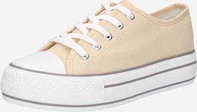 Hailys Zapatillas deportivas bajas 'Pia' en beige / blanco, Vista del producto