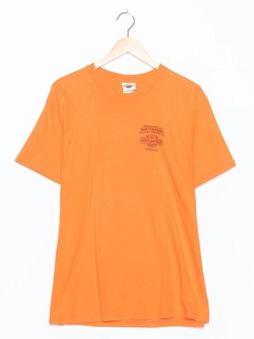 Harley Davidson T-Shirt in L in Orange