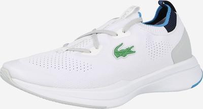 LACOSTE Baskets basses en bleu nuit / bleu clair / vert / blanc, Vue avec produit