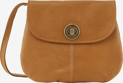 PIECES Mini Bag 'Totally Royal Party' in cognac: Frontalansicht