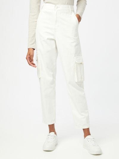 LEVI'S Cargo hlače u bijela, Prikaz modela
